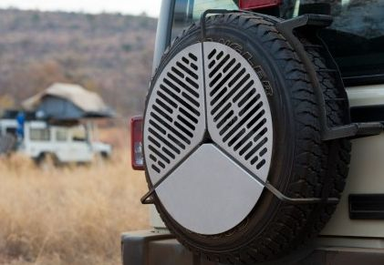 Spare Tire Mount Grill 9