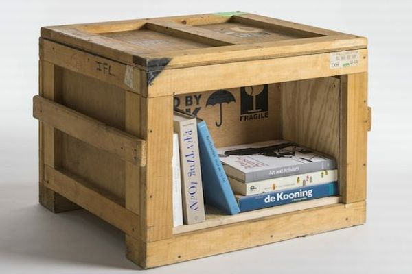 Furniture Made Up Of Used Shipping Crates By Peveto At Furm