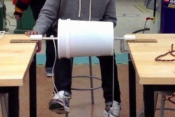 Foot-powered washing machine_3