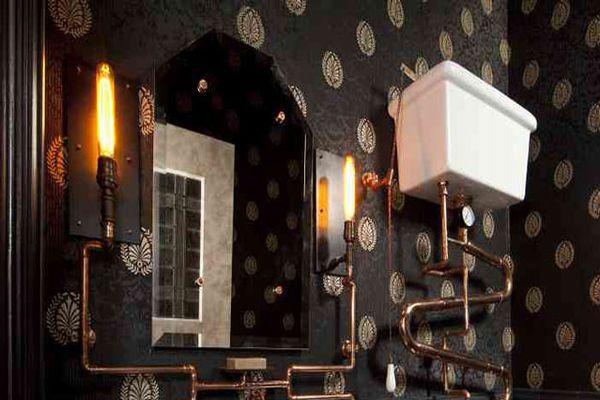 Andre Rothblatt Architecture Creates Steampunk Bathroom