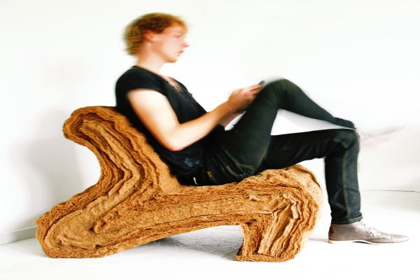 Coconut fiber chair by jorrit taekema