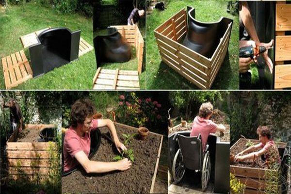 TERRAform a unique raised bed designed by La Valise