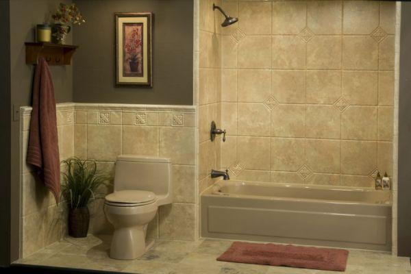 Acrylic bathroom