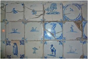 Delftware type Bathroom Design