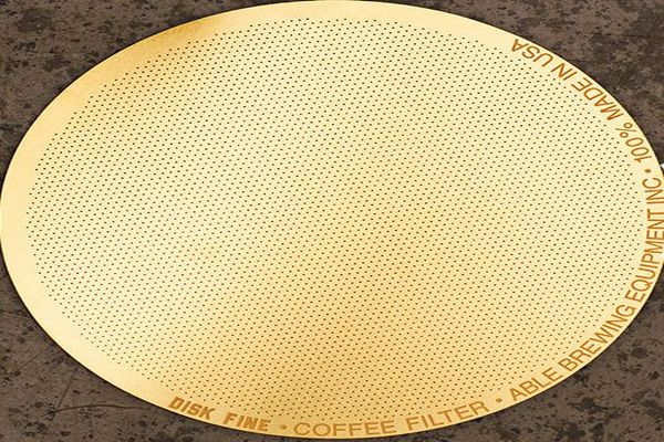 Gold DISK Coffee Filter