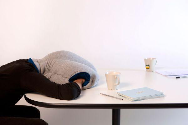 Ostrich Pillow design
