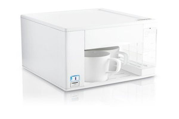 The toaster is suitable for making two slices of toast