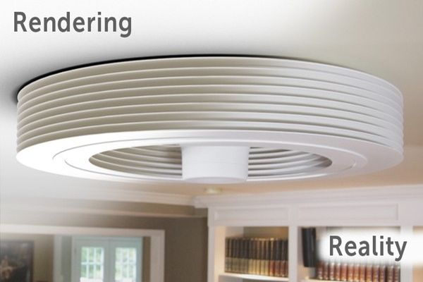 Bladeless Ceiling Fan Interior Home Design
