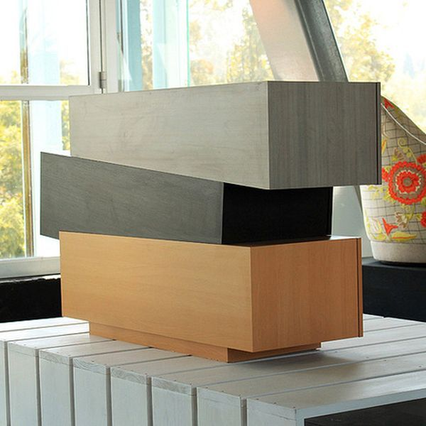Booleanos chest of drawers inspired from algebra