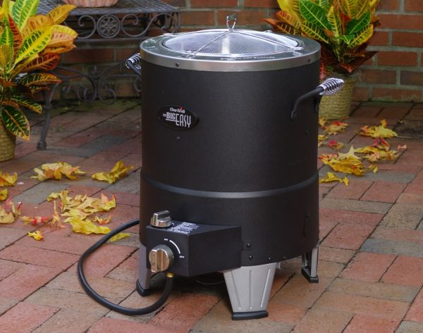 Char-Broil's TRU-Infrared oil-less turkey fryer