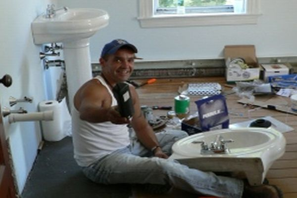 Installing a bathroom sink home harmonizing for New bathroom installation