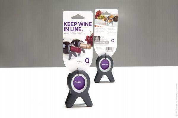 Vine for wine bottles