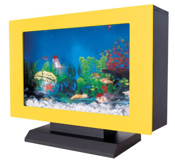AquaVista Acrylic Tabletop Aquarium