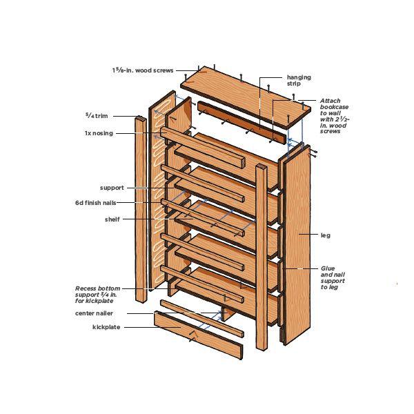 Pdf Diy Building A Book Shelf Download Build A Dollhouse Woodworktips