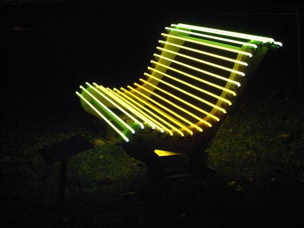 Illuminated Benches