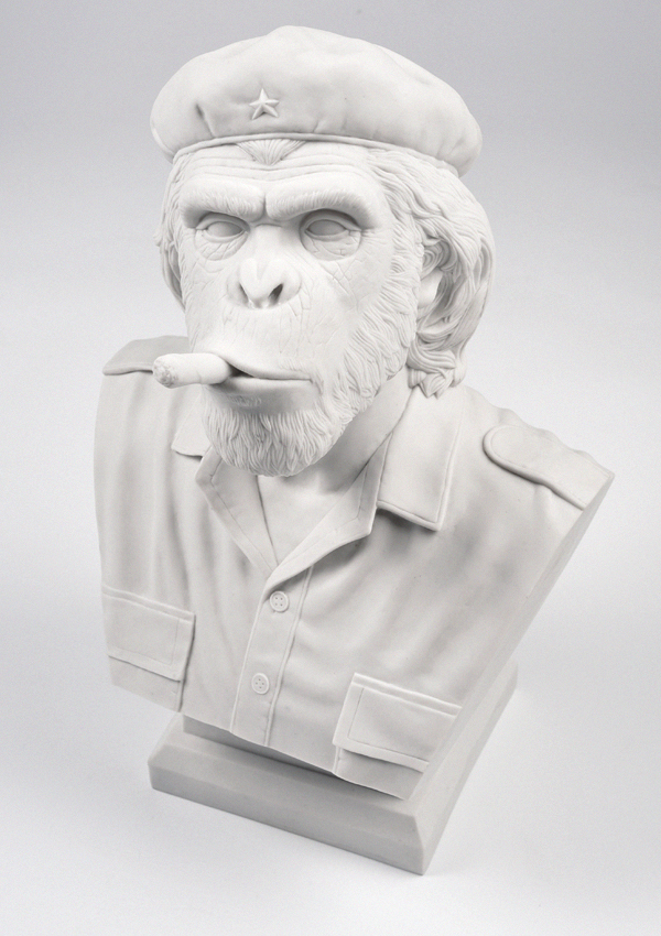 Thailand based design studio creates the crazy 'Che Ape' bust