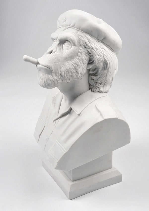 Thailand based design studio creates the crazy 'Che Ape' bust!