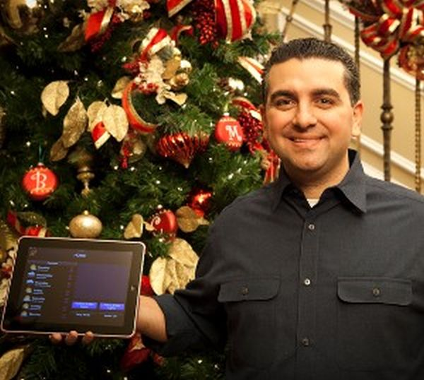 iPad control interface