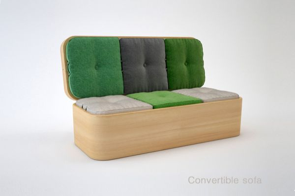 Convertible Sofa by Julia Kononenko