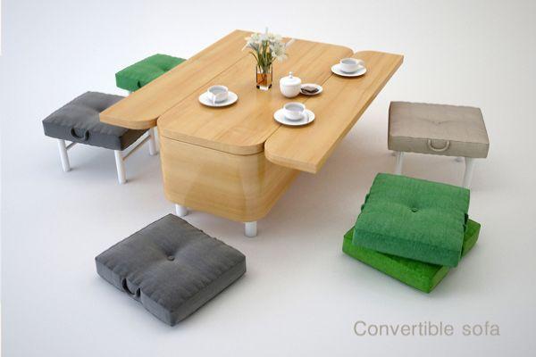 Convertible Sofa by Julia Kononenko
