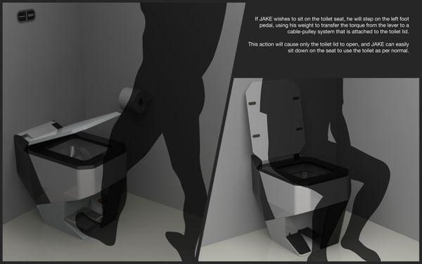 Elevar toilet seat from LKY Design