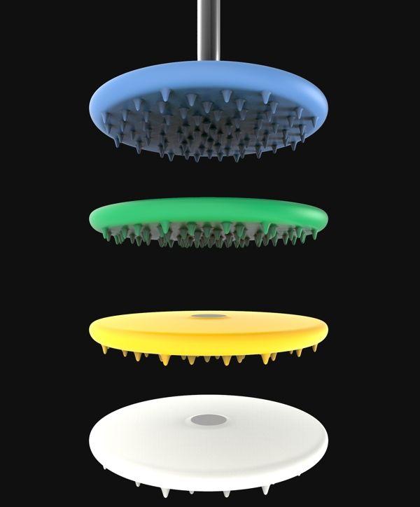 Geonic Shower by Florian M. Witt