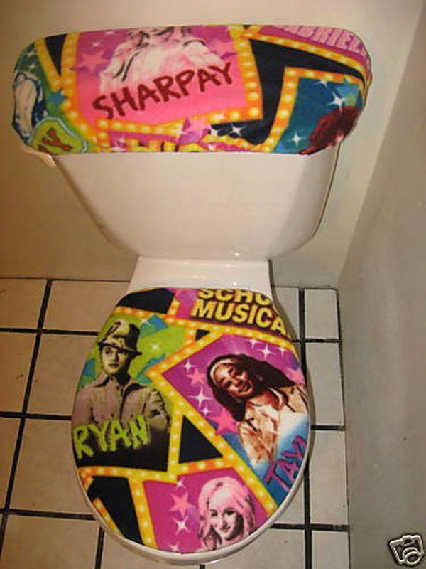 High School Musical toilet seat