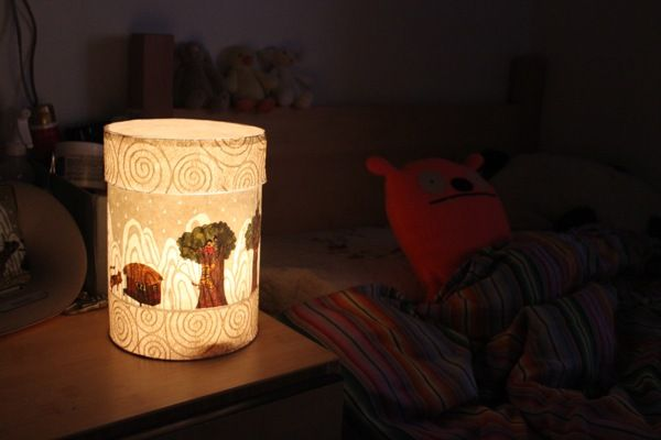 Korean tale night lamp by Minkyung Chung