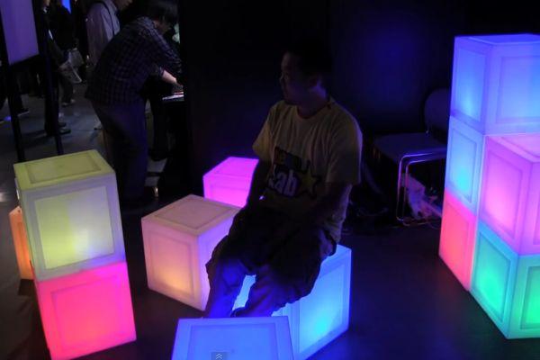 Mutli-Purpose Media Block Chairs