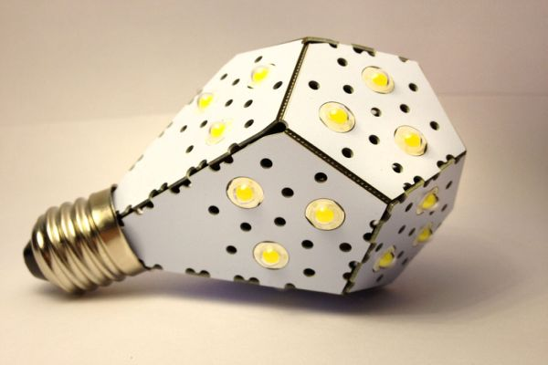 NanoLight LED light bulb
