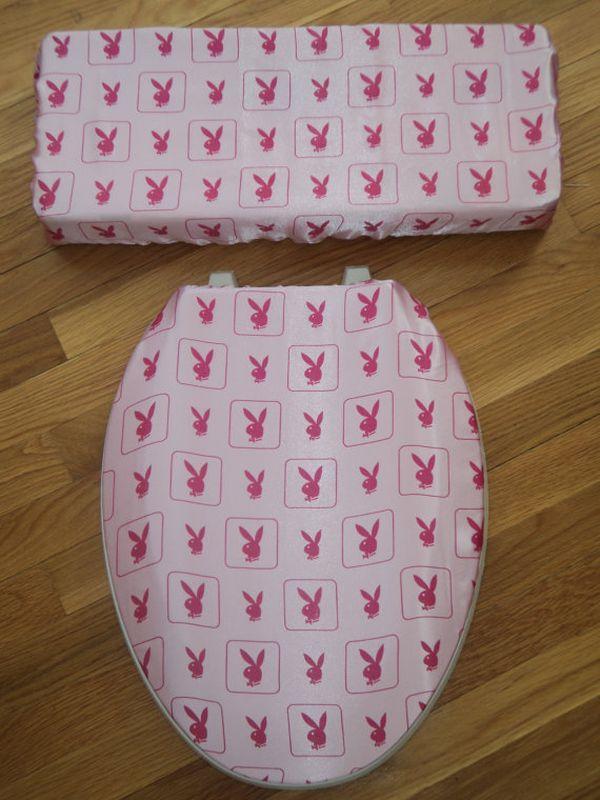 Playboy bunny toilet seat