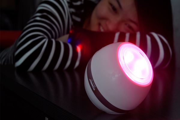 Vibe Mood LED lights with speaker