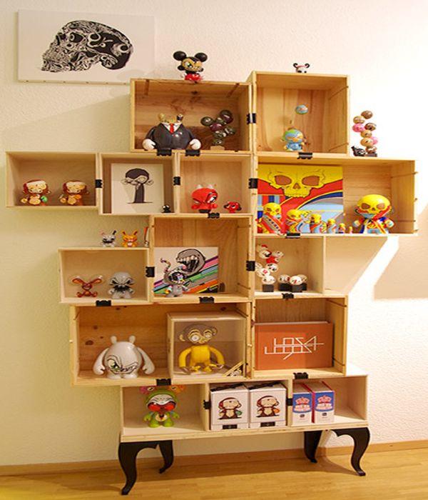 Box Shelf Design PDF Woodworking