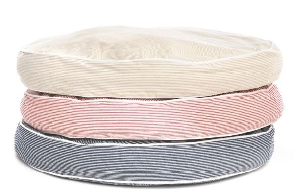 Engineer Stripe Circle Bed for dog