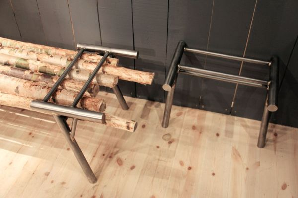goats on furniture - Getbock Bench