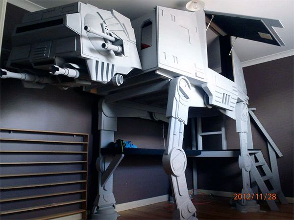 AT-AT WALKER LOFTED BED