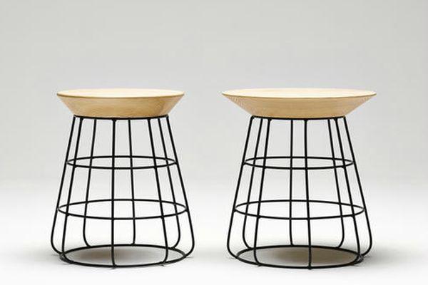 Sidekick stool and side table
