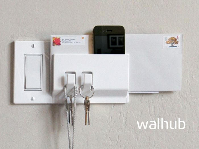 Walhub switch plates