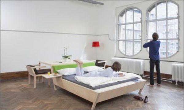 Bed'nTable by Erik Griffioen