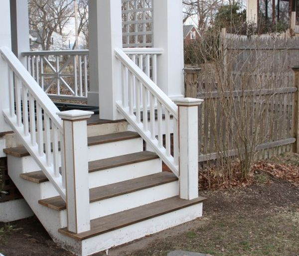 how to build your own porch staircase home harmonizing
