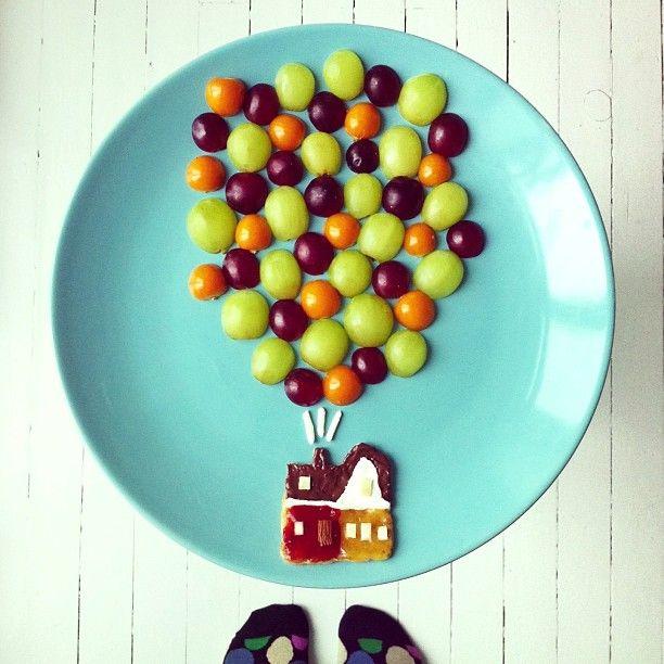 Ida Skivenes Plays With Her Breakfast to Create Imaginative Artworks