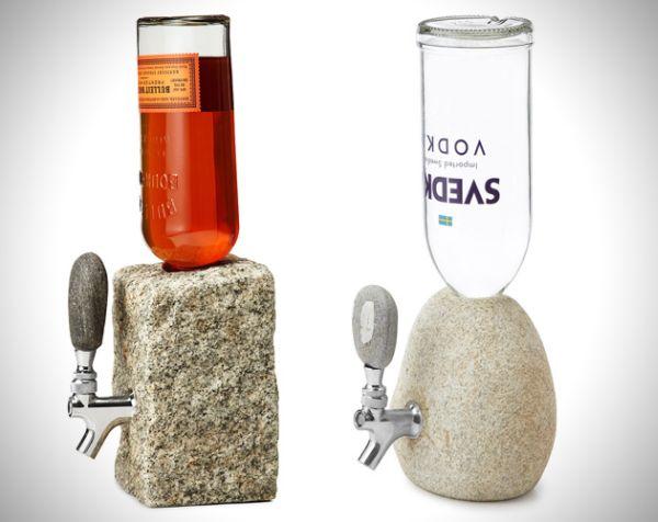 Stone Drink Dispenser by Jeff Henderson