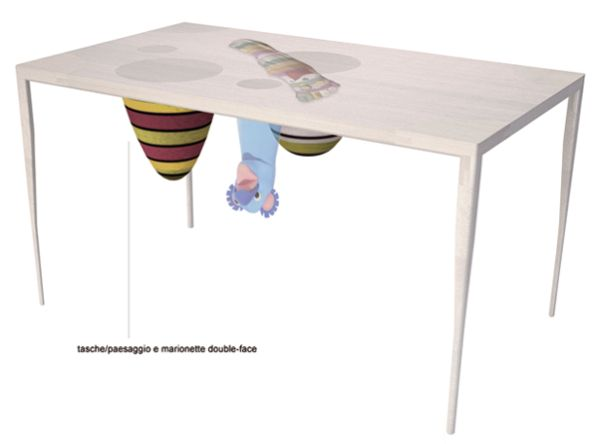 Tabhole Table