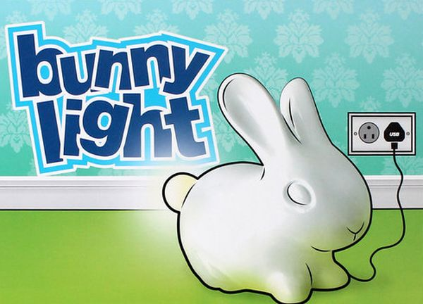 Bunny Lamp by Aaron Norman