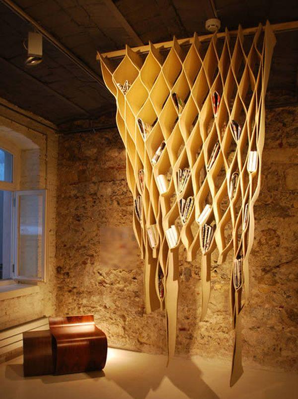 Bookwave Hanging bookshelf