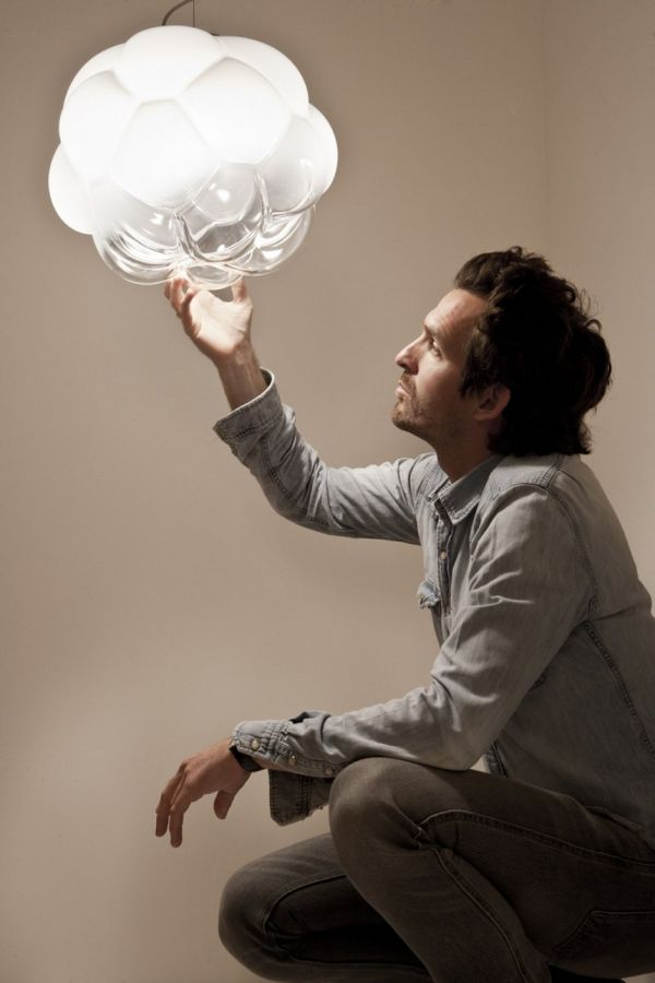 Cloudy LED lamp by Mathieu Lehanneur for Fabbian_1