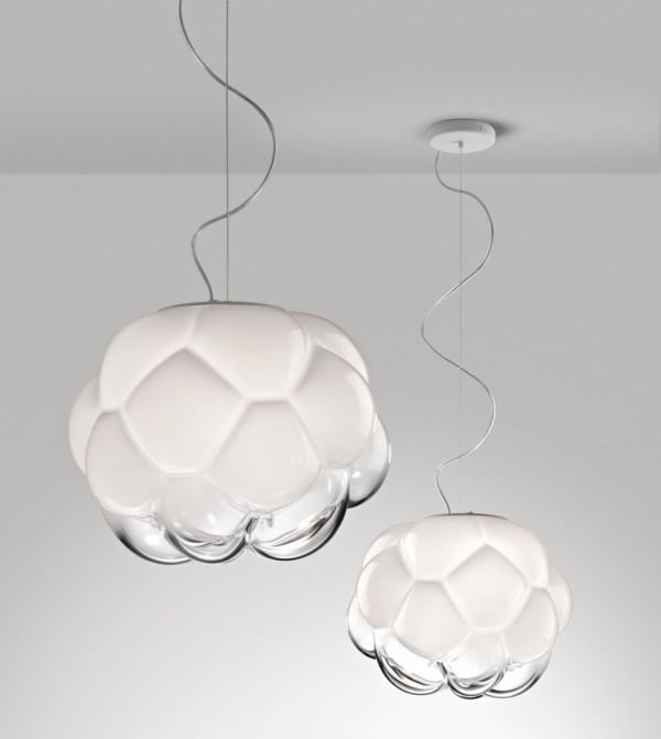 Cloudy LED lamp by Mathieu Lehanneur for Fabbian_3