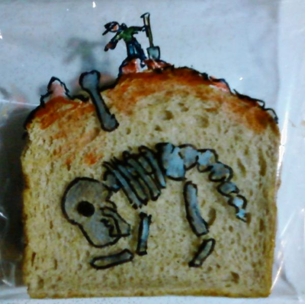 David LaFerriere makes 'sandwich art' drawings for his kids_2