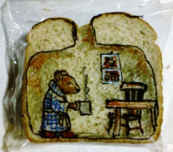 David LaFerriere makes 'sandwich art' drawings for his kids_3