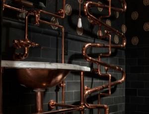 Steampunk sink